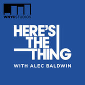 Alec Baldwin's Here's the Thing podcast logo